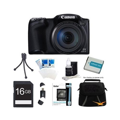 Canon Powershot SX400 IS Black Special Offers