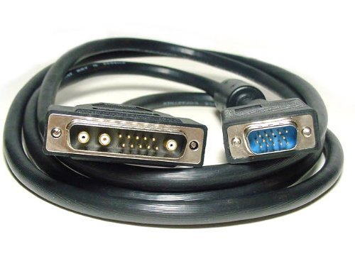 HD15 Male to 13W3 Male(Sun) Cable - 6FT