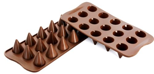 Silikomart Silicone Easy Chocolate Mold franke 740 chocolate
