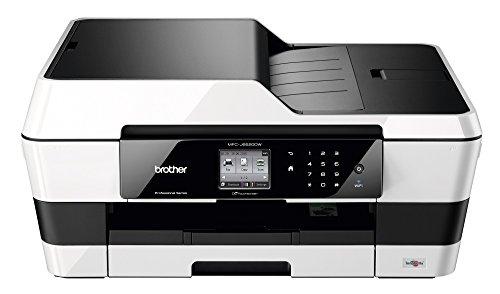 Brother MFC-J6520DW Stampante Multifunzione Inkjet, Touchscreen LCD a Colori da 6.8 cm, USB 2.0 e WiFi