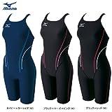 ミズノ(MIZUNO) ハーフスーツ水着 85OP30295 ブラック×ローズ×ピンク M