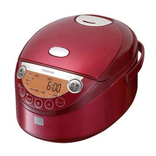 東芝 IHジャー炊飯器(3.5合炊き) グランレッドTOSHIBA IH保温釜 RC-6XG-R