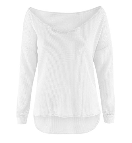 linemoon-womens-deep-v-neck-long-sleeve-knitted-pullovers-white-xl