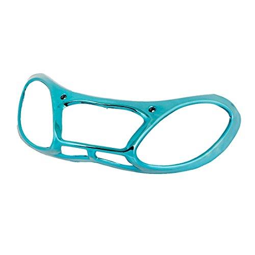 Bleu-Arc-en-forme-de-couvercle-de-la-lumire-arrire-en-plastique-pour-moto