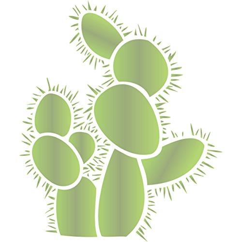 Prickly Pear Cactus Stencil - (size 12