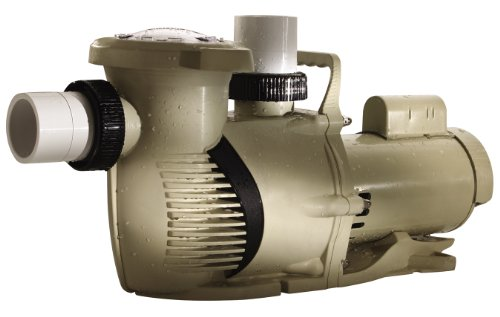 Pentair 022028 Whisperfloxf High Performance Energy Efficient Single Speed Up Rated Pool Pump, 2½ Horsepower, 208-230 Volt, 1 Phase