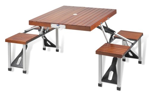 Lowest Price! Picnic at Ascot Portable Picnic Table Set