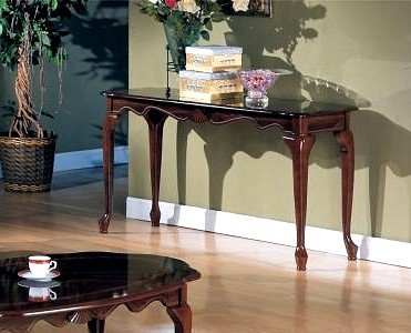 Cheap Beautiful Mohagony Console Sofa Table (VF_AZ02-11670)