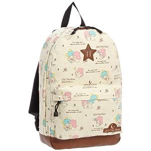 [リトルツインスターズ(キキララ)] Little Twin Stars(kikilala) リトルツインスターズ(キキララ) デイパックリュック 10314 CR (クリーム)