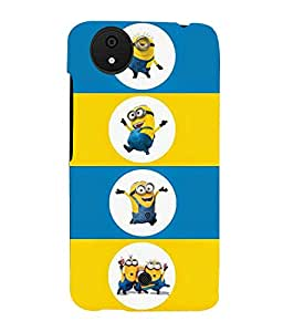 printtech Minions Back Case Cover for Micromax Android A1::Micromax Canvas A1 AQ4502