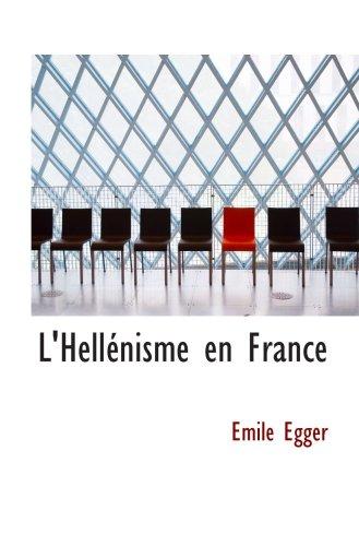 L ' Hellénisme de France