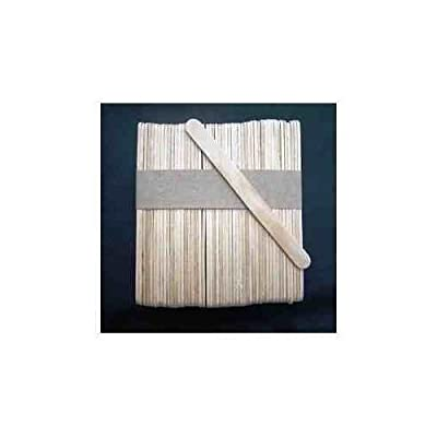 100 Plain Wooden Standard Lolly Sticks