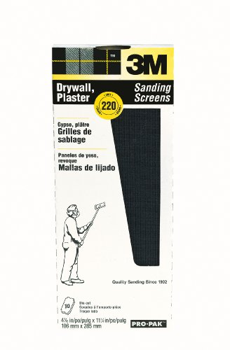 Read About 3M 99436 Drywall Sanding Screens Pro-Pak, 220-Grit, 10-Pack