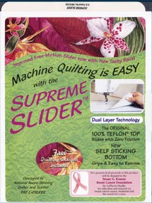 Big Save! LaPeirre Studio Supreme Slider Free Motion Machine Quilting Mat