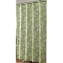 Tropical Punch Shower Curtain (Lime Green)