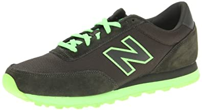 New Balance Men's ML501 Sole Pack Fashion Sneaker,Black/Green,10 D US