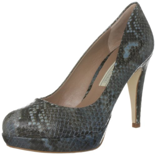Pied A Terre Women's Amla Blue Round Toe 0431506880034041 6 UK