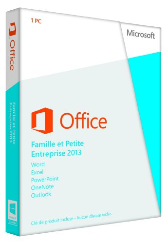 Office Home and Business 2013 French (1PC/1User) (PC Key Card)