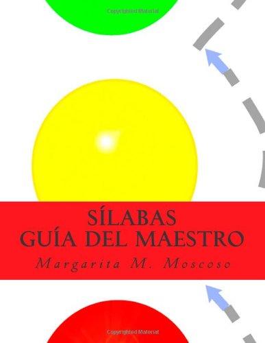 Sílabas: Guía del Maestro: Volume 1