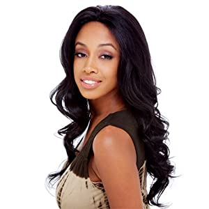 FreeTress Equal Beyonce Synthetic Lace Front Wig Color 1B