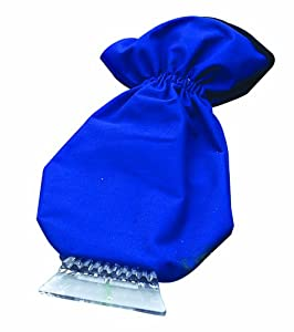 Deluxe Fleece Lined Ice Scraper Glove Mitt, Royal Blue by Bags for LessTM