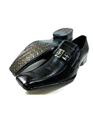 mens black delli aldo loafer dress casual shoes styled in