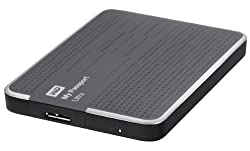 WD My Passport Ultra 2TB USB 3.0 Portable Drive with Auto and Cloud Backup - Titanium