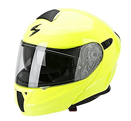 Casque de moto jaune néon 920 SCORPION EXO