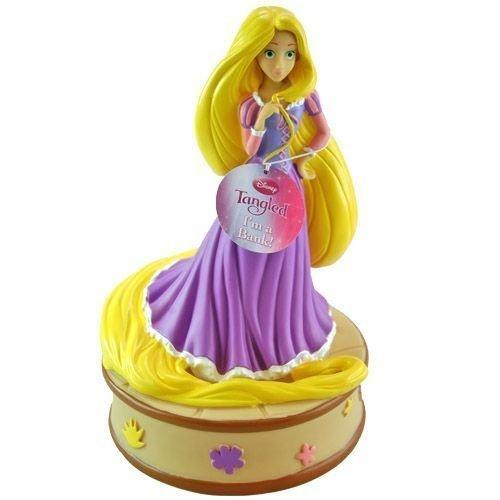 Disney Princess Rapunzel Tangled Coin Bank - 1