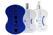 buy The 'Starter' Twist I.T. 2 Bottle Set With Blue Brush | The Original Nudred Natural Hair Care System