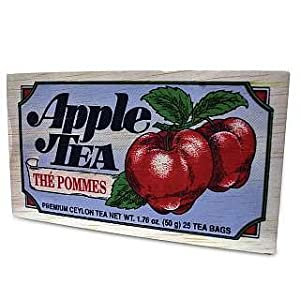 Specialty Tea in Softwood Box - Apple
