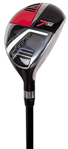 Pinemeadow Golf Men's Excel EGI Hybrid Club, Graphite, 32-Degree, 7, Regular, Right Hand