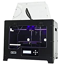 FlashForge 3d Printer Creator Pro, Metal Frame Structure, Acrylic Covers, Optimized Build Platform, Dual Extruder W/2 Spools,[...]