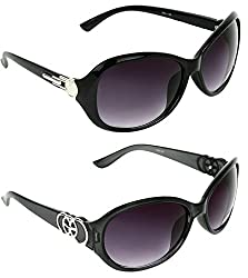 Redix New 2 in 1 TraditionaL Black Butterfly Sunglasses For Womens