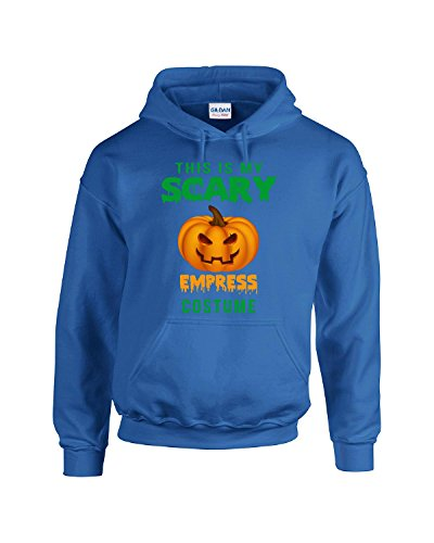 Halloween This Is My Scary Empress Costume - Adult Hoodie L Royal (Royal Empress Adult Costume)