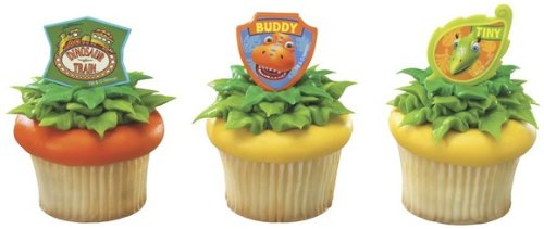 Dinosaur Train Buddy and Tiny Rings ~ 12 count