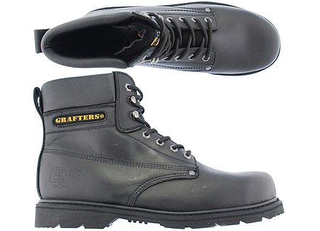 grafters-scarpe-antinfortunistiche-donna-nero-nero-nero-nero-5-uk
