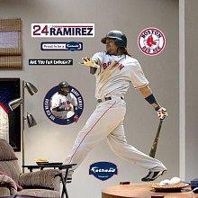 MLB Boston Red Sox - Manny Ramirez - Self-Stick Wall Accent Mural/Stickers Set