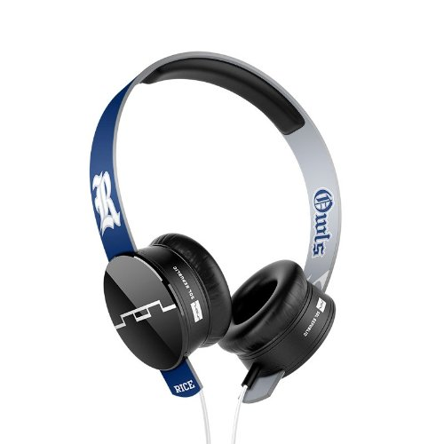 Sol Republic 1211-Rcu Collegiate Series Tracks On-Ear Headphones With Three Button Remote And Microphone - Rice University