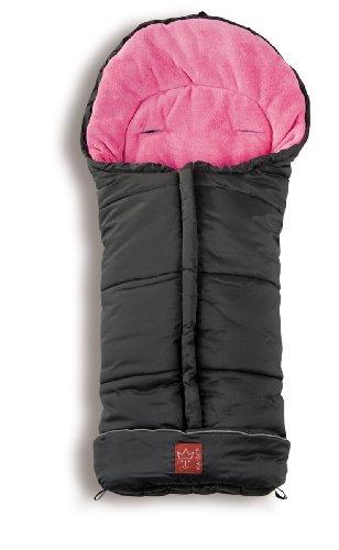 kaiser-65718-25-accessori-passeggino-sacco-termico-jooy-nero-rosa