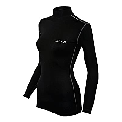 COOVY ATHLETE Women's Compression Long Sleeve Mock, Style W05 from Coovy