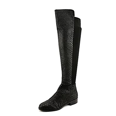 Michael Kors Bromley Flat Boot Womens Size 5 Black Fashion Over the Knee Boots