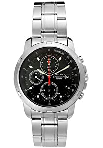 Mens Seiko Chronograph Watch # SND127P1