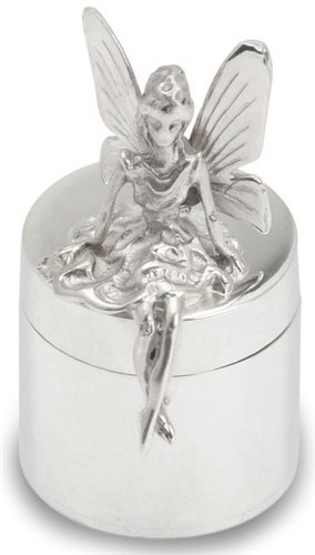 Krysaliis Sterling Silver Box, Tooth Fairy