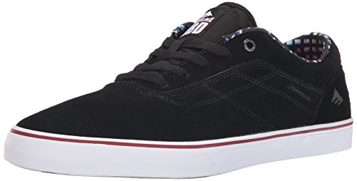 pictures of Emerica Men's The Herman G6 Vulc X Skateline Shoe, Black, 11 M US