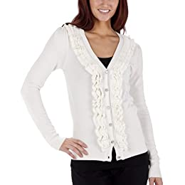 Product Image Ruffle-Edge Cardigan