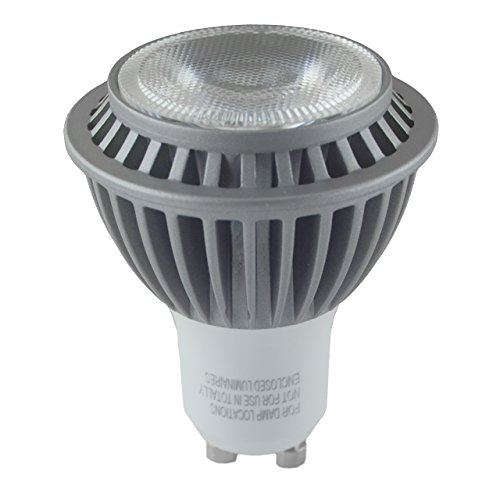 Hitlights 7 Watt Ul-Listed Mr16/Gu10 Warm White Led Bulb - 20 Year Lifespan, Replaces 50 Watt - 3000K, 450 Lumens, 110 Volts