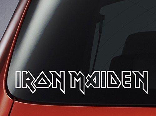 Iron Maiden Logo - Vinyl Decal - Car, Window, Wall, Laptop Sticker by Level 33 Ltd
