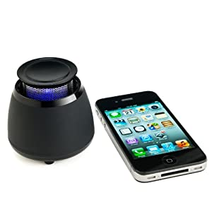 Wireless Bluetooth Speaker- BLKBOX POP360 Hands Free Bluetooth Speaker With 360 Degree Sound - For iPhone 5, 4S, 4, 3GS, iPads, Bluetooth Android Phones, Samsung Galaxy Note, Galaxy S3, Galaxy S2, Galaxy Nexus, HTC One X and all other Smart Phones, Tablets and Computers