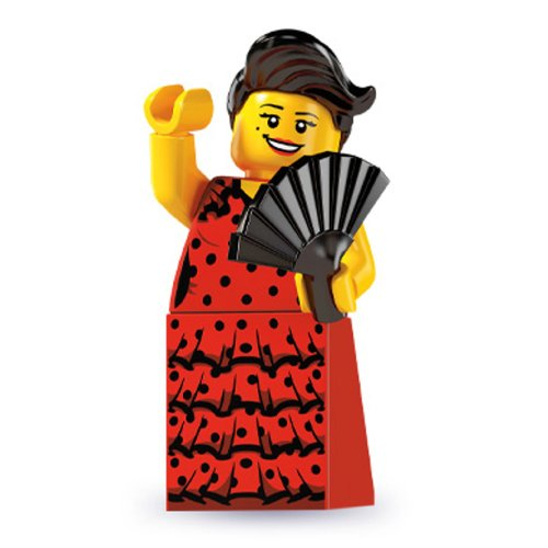 Lego 8827 Minifigure Series 6 - Flamenco Dancer - 1
